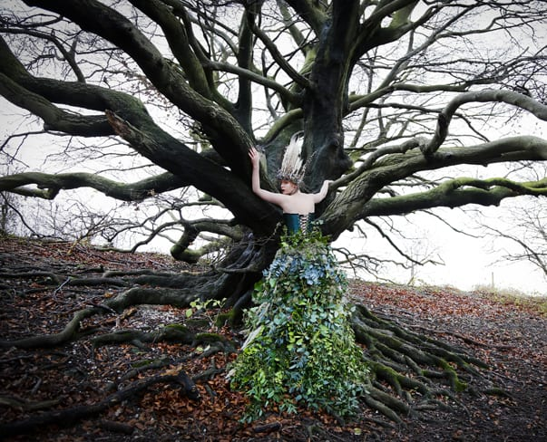 Keeper of the Trees – Floral Couture with British Foliage by Jo Wise