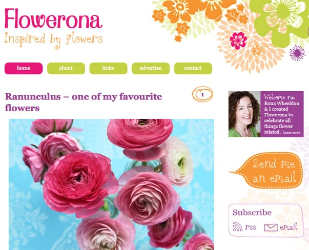 What I've learnt about relaunching Flowerona…plus lots of useful tips
