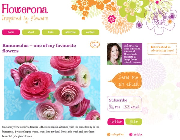 Flowerona-Old-Website