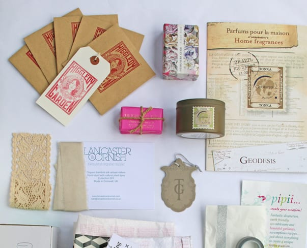 Social Media for Florists Workshop : London, 24th February 2015 : Part 3 – The Goody Bag
