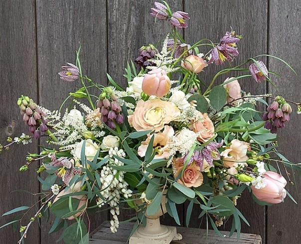 Winner of the inaugural #floweronawedding initiative on Instagram!