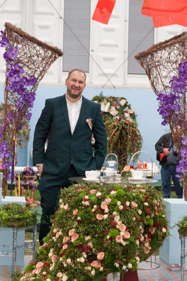 St Pancras Renaissance Hotel Indoor Garden Design RHS Chelsea Flower Show 2015 Flowerona-1