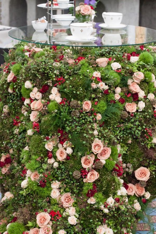 St Pancras Renaissance Hotel Indoor Garden Design RHS Chelsea Flower Show 2015 Flowerona-6