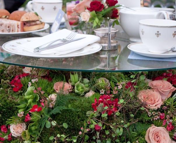 RHS Chelsea Flower Show 2015 – Best Hotel Floristry Exhibit : St Pancras Renaissance Hotel & Indoor Garden Design
