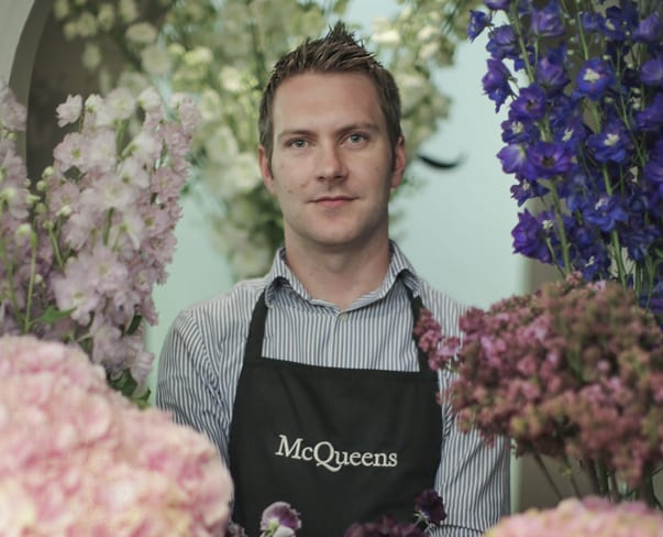 Florist Friday : Interview with Will Kerr of McQueens at Claridge's