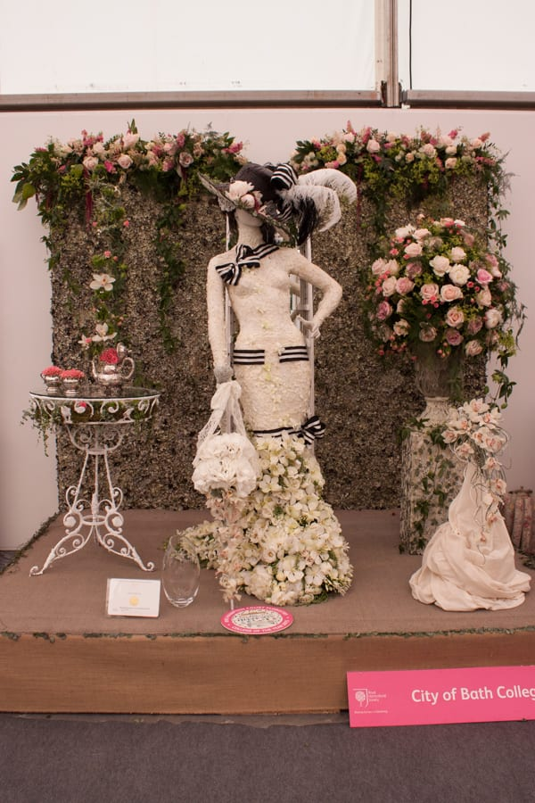 RHS Hampton Court Palace Flower Show 2015 Floristry College of the Year Flowerona-2