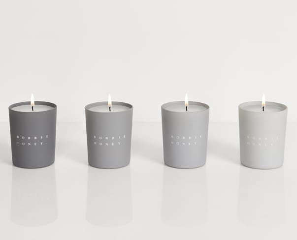 Florist Robbie Honey's Debut Scented Candle Collection