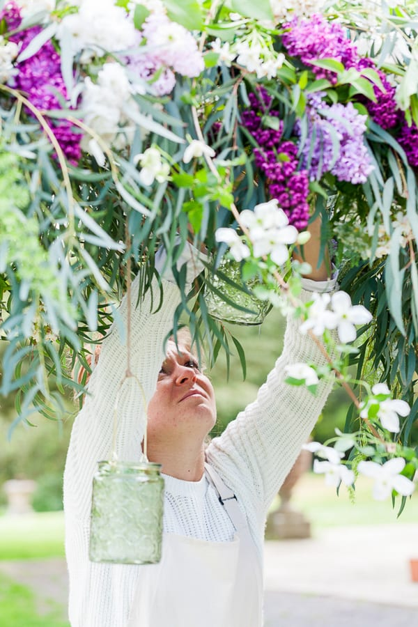 Sabine Darrall Floristry School Katie Spicer The Floral Alchemist Three Weddings in 3 Days 2015 Flowerona-10