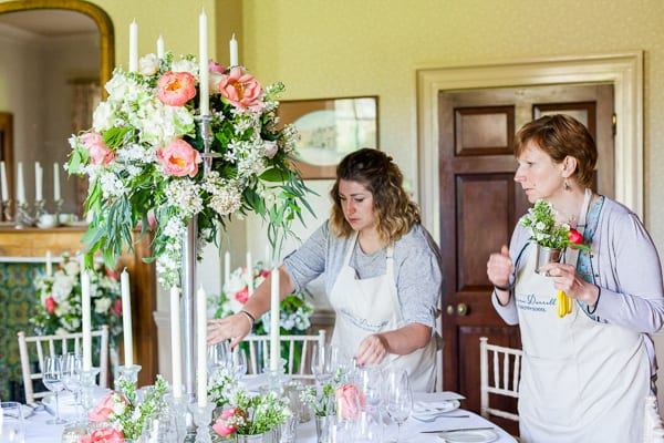 Sabine Darrall Floristry School Katie Spicer The Floral Alchemist Three Weddings in 3 Days 2015 Flowerona-25