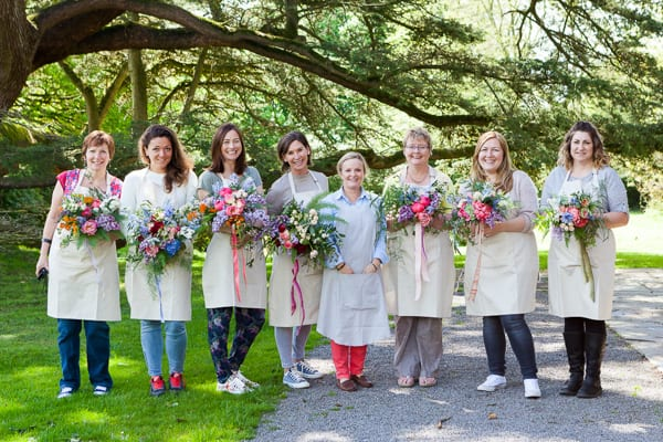 Sabine Darrall Floristry School Katie Spicer The Floral Alchemist Three Weddings in 3 Days 2015 Flowerona-38
