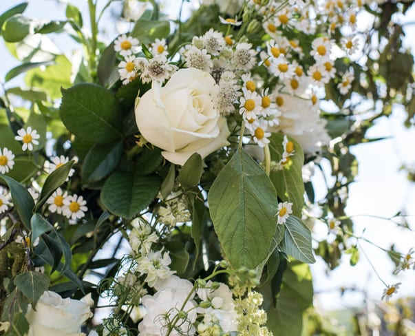 Wedding Wednesday : Leafy Couture Flower School for Florists