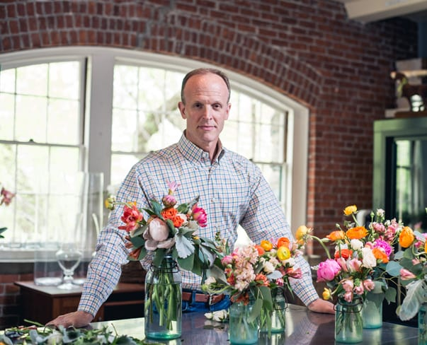 Florist Friday : Interview with Tedd Kapinos of Jasper & Prudence Floral and Events