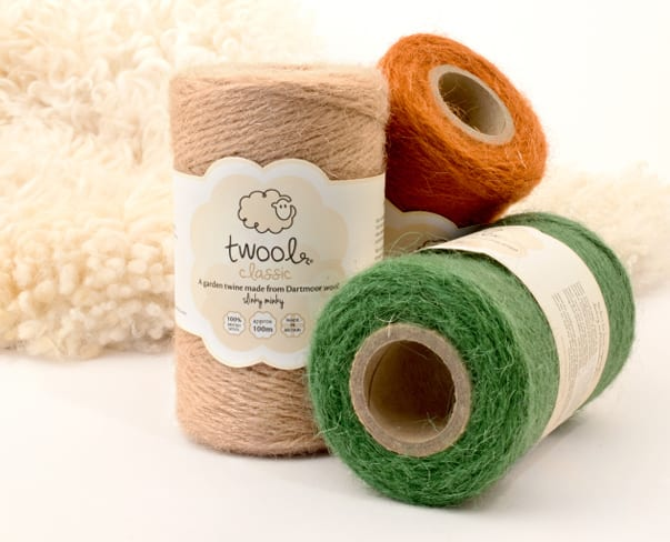 Twool – Fabulous wool twine…perfect for florists & gardeners!