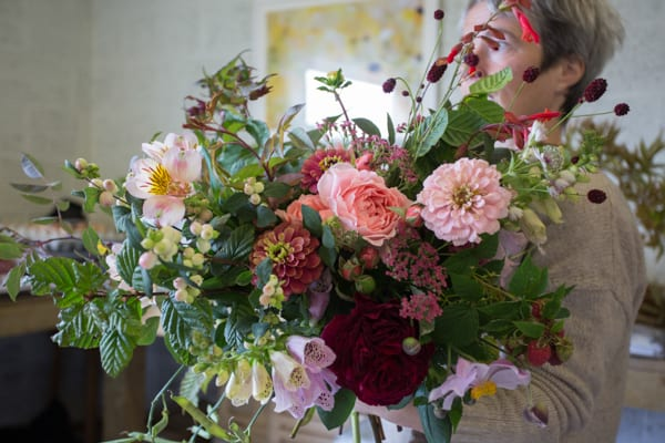 Green and Gorgeous The Garden Gate Flower Company Wedding Flowers Intensive Course Clare West -23