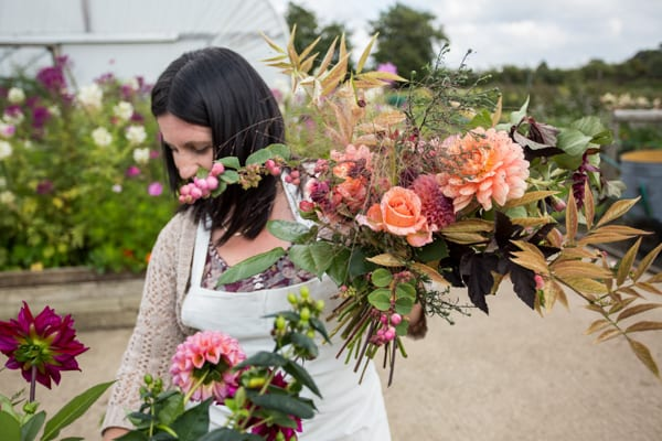 Green and Gorgeous The Garden Gate Flower Company Wedding Flowers Intensive Course Clare West -24
