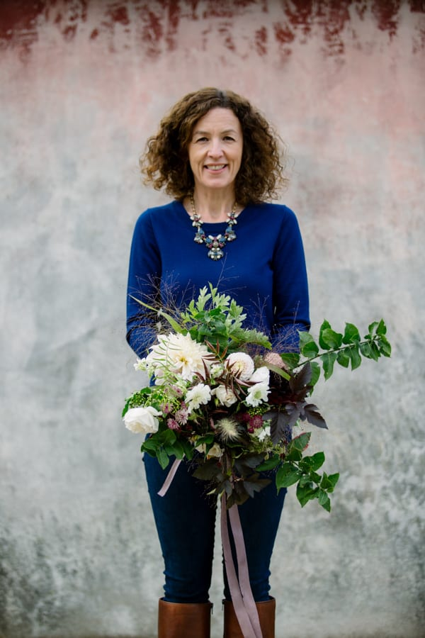 Green and Gorgeous The Garden Gate Flower Company Wedding Flowers Intensive Course Clare West -32