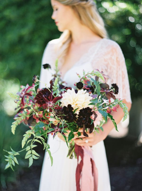 Michelle-Boyd-Photography-Without-Wax-Katy-Dark-Purple-Wedding-Bouquet