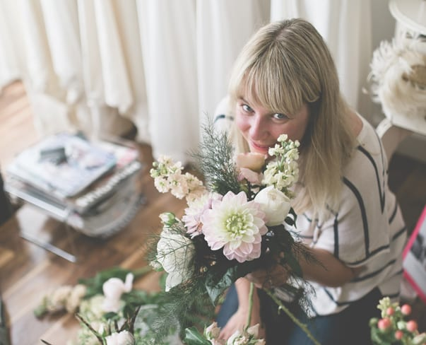 Florist Friday : Interview with Rebecca Moody of Pollen Designs