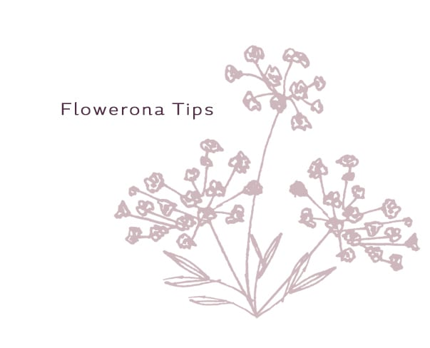 Flowerona Tips: Create a hashtag when you're running an event