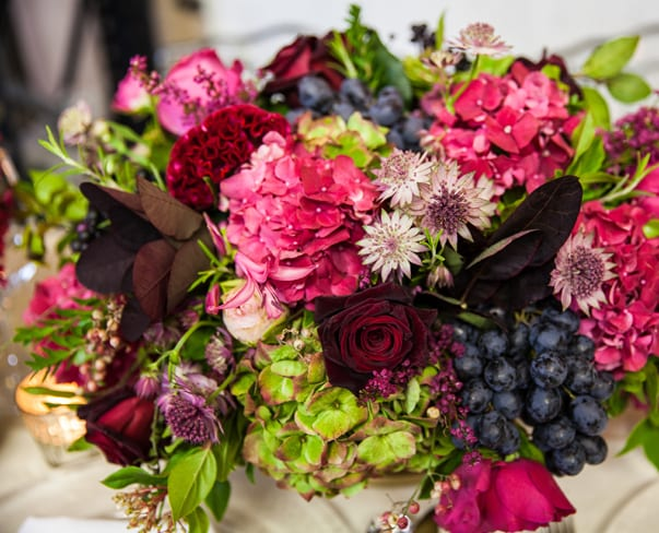 Florist Friday : Mary Jane Vaughan's Autumn Showcase Event