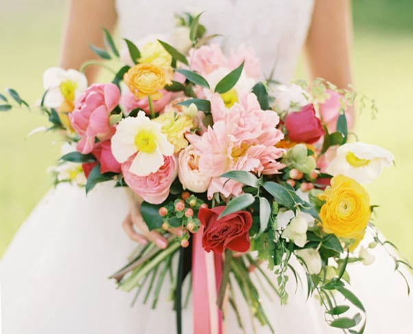 Florist Friday : How to use colour psychology to read your brides' minds!