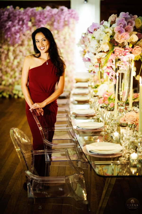 Karen Tran Wedding Flowers Book Launch London Flowerona-2
