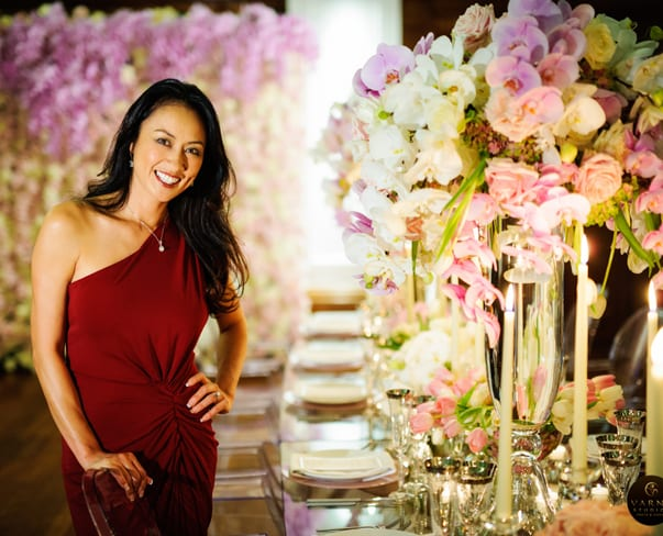Wedding Wednesday : Karen Tran's new book launch, Wedding Flowers
