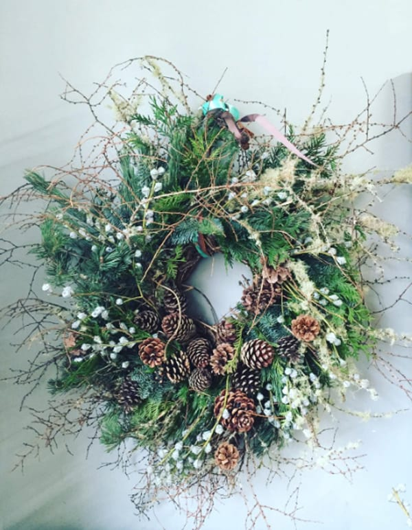Florist Friday On Trend Natural Foliage Christmas