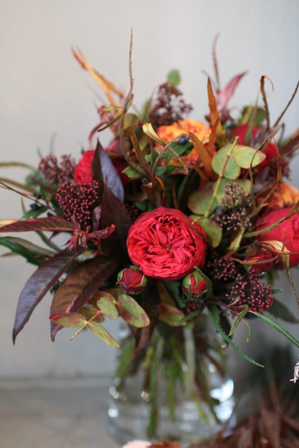 Zita Elze Florist Shop Christmas 2015 Flowerona-15