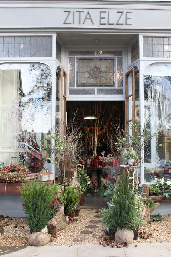 Zita Elze Florist Shop Christmas 2015 Flowerona-2