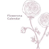 Flowerona-Calendar