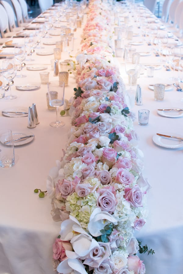 Laura Kuy The Shard Shangri La Hotel London Wedding Flowers Flowerona-1