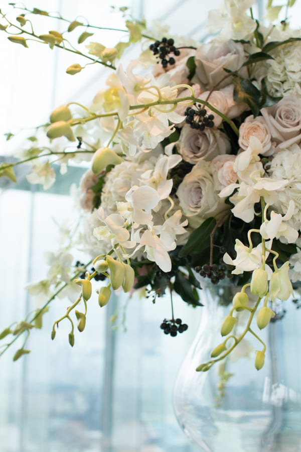 Laura Kuy The Shard Shangri La Hotel London Wedding Flowers Flowerona-10