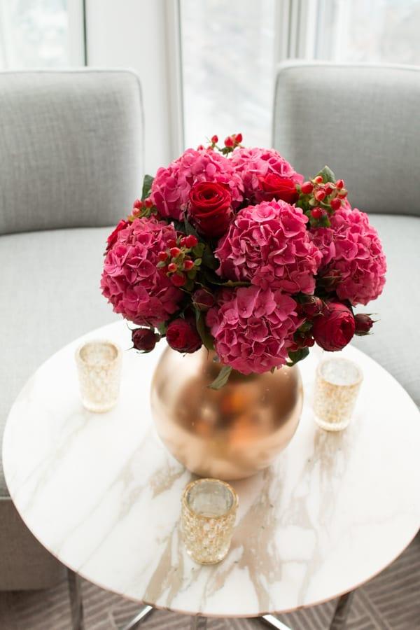 Laura Kuy The Shard Shangri La Hotel London Wedding Flowers Flowerona-19