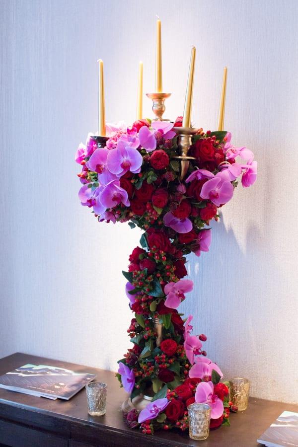 Laura Kuy The Shard Shangri La Hotel London Wedding Flowers Flowerona-21