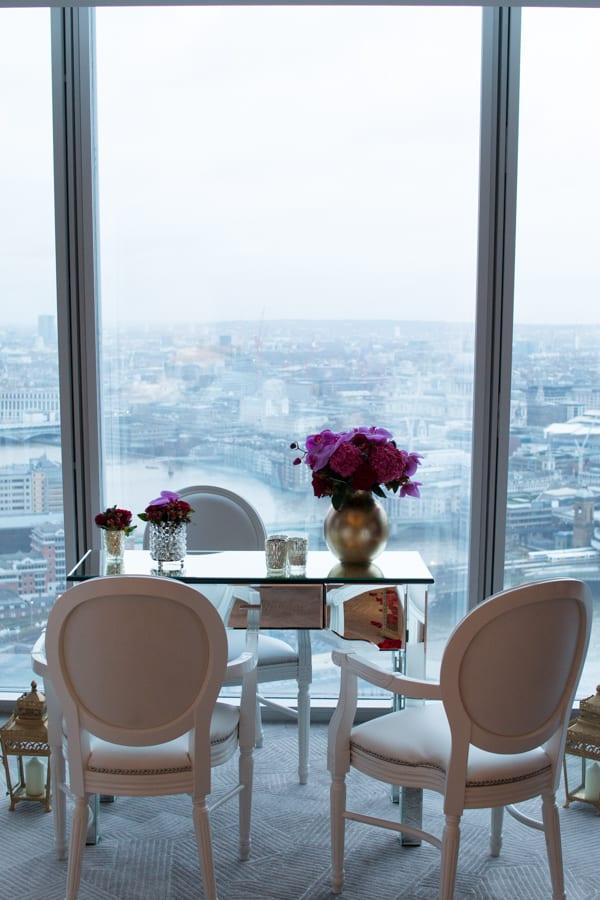 Laura Kuy The Shard Shangri La Hotel London Wedding Flowers Flowerona-22