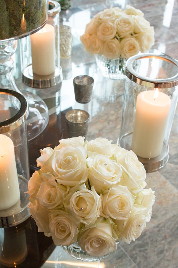 Laura Kuy The Shard Shangri La Hotel London Wedding Flowers Flowerona-4