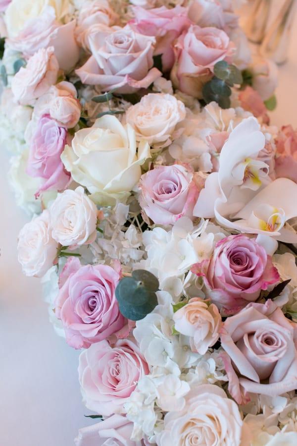Laura Kuy The Shard Shangri La Hotel London Wedding Flowers Flowerona-8