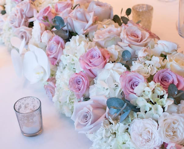 Wedding Wednesday : Floral Designs by Laura Kuy Flowers at the Shangri-La Hotel Wedding Showcase at The Shard, London