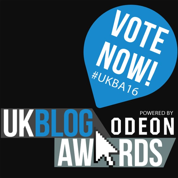 Vote for me now in the UK Blog Awards #UKBA16