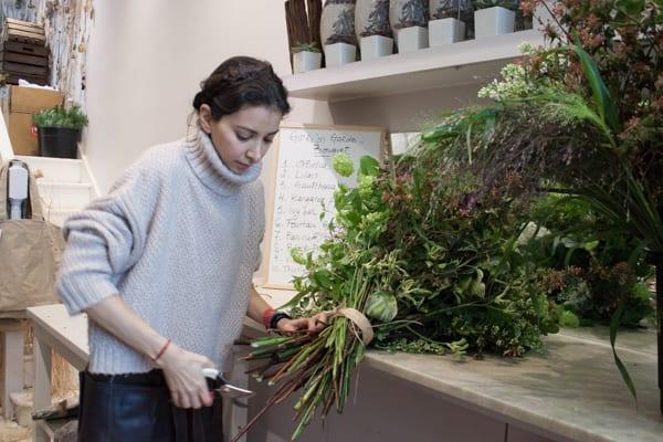 Catherine Muller Flower School London Garden Style Florist Course Flowerona-2