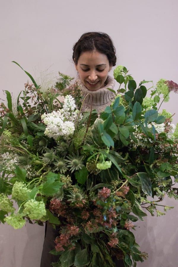 Catherine Muller Flower School London Garden Style Florist Course Flowerona-3