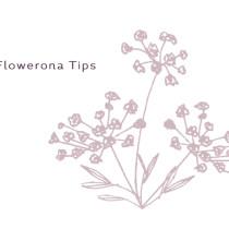 Flowerona-Tips Feature