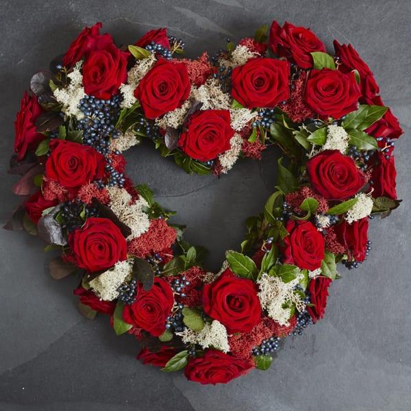 Jamie-Aston-Valentine's-Day-2016-My-Valentine-Heart-Wreath