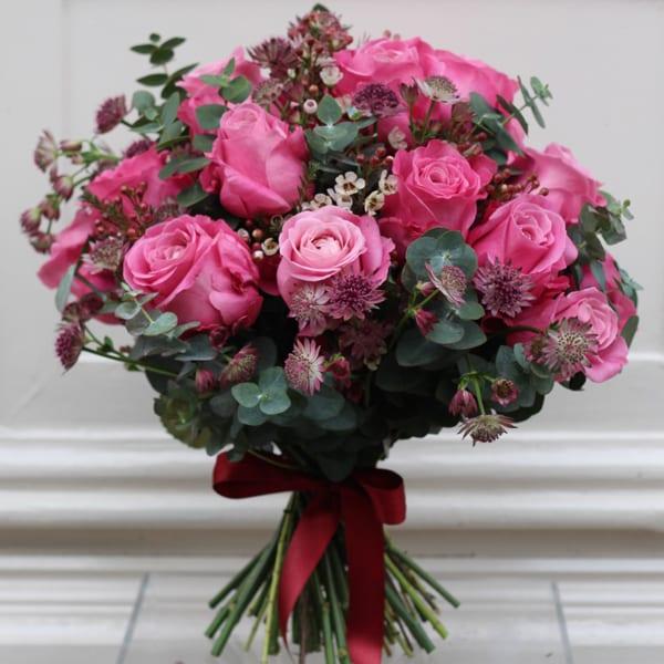 Jamie-Aston-Valentine's-Day-2016-My-Valentine-Pink-ROse-Bouquet-