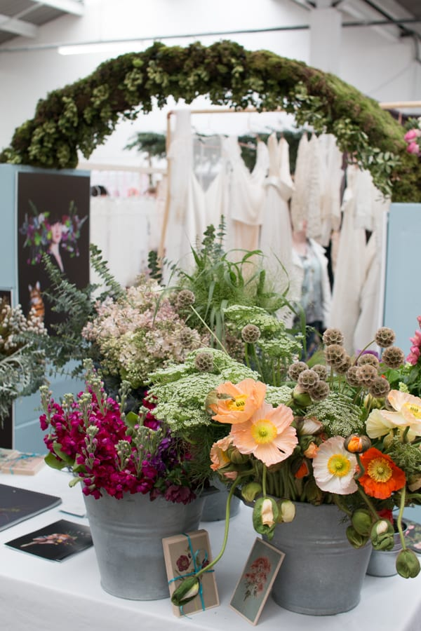 Electric Daisy Flower Farm A Most Curious Wedding Fair 2016 Flowerona-9