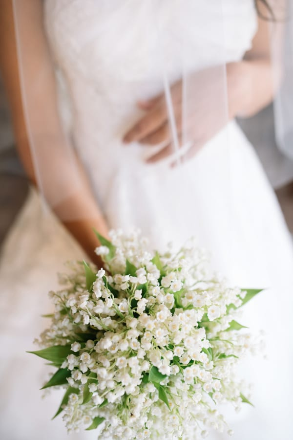 Lily Of The Valley Bridal Bouquet Stefano Santucci