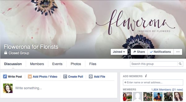Flowerona-for-Florists-Facebook-Group