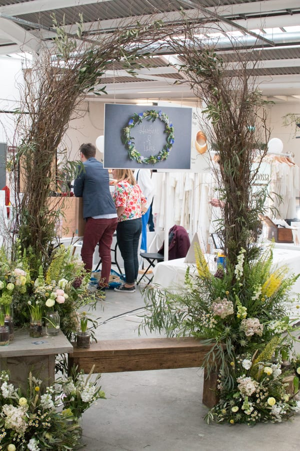 Herbert & Isles A Most Curious Wedding Fair 2016 Flowerona-2