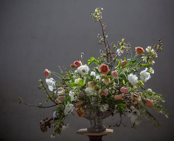 Flowerona Links : With floral angels, houseplants & a flower arranging tip or two…